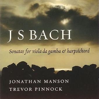J.S. Bach - Bach: Sonatas para la importación de los E.e.u.u. de la Viola Da Gamba y Clavecín [CD]