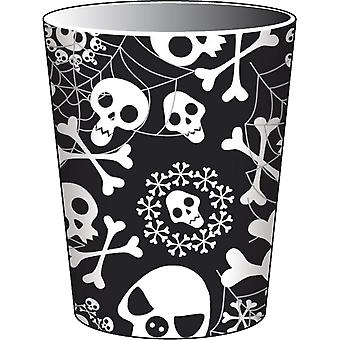 Halloween Cup party horror skull 8 piece Halloween party