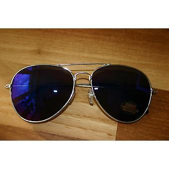 Aviator sunglasses adult glasses US COP Aviator glasses blue reflecting