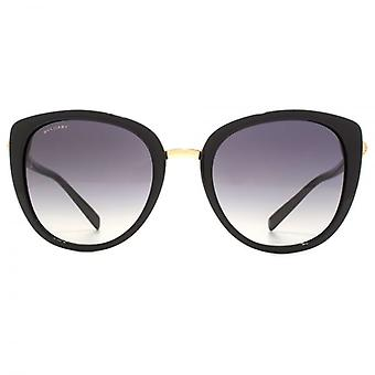 Bvlgari Metal Bridge Cateye Sunglasses In Black