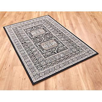 Da Vinci 57147 3636 schwarzes Rechteck Teppiche traditionelle Teppiche