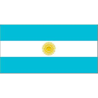 Argentinian Flag 5ft x 3ft With Eyelets For Hanging