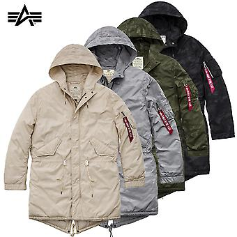Alpha industries hooded fishtail CW hidden Camo jacket