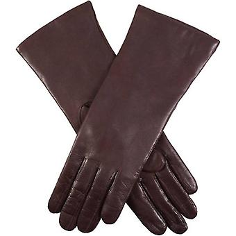 Dents Helene Cashmere Lined Hairsheep Leather Gloves - Mocca Brown