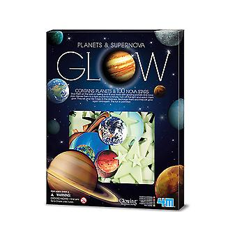 SALE -  Glow In The Dark Planets and 100 Nova Stars | Outer Space Crafts