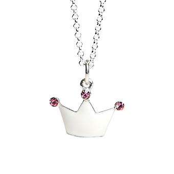 Kalas Necklace Silver Princess Crown