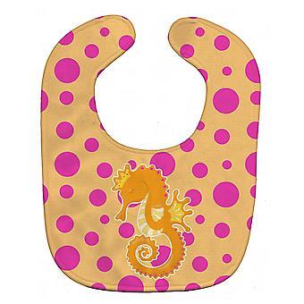 Carolines Schätze BB8835BIB Strand Seepferdchen Baby Lätzchen