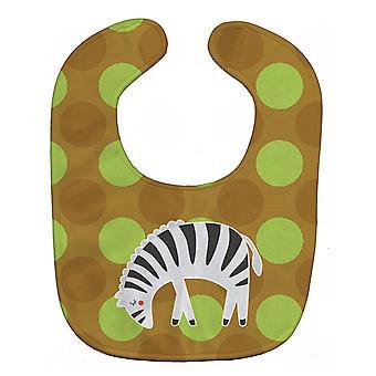 Carolines Treasures  BB6787BIB Zebra Baby Bib