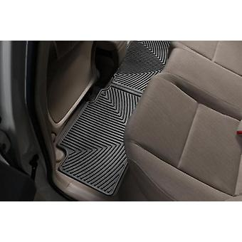 WeatherTech All-Weather Trim to Fit Rear Rubber Mats for Honda Civic Sedan, Black