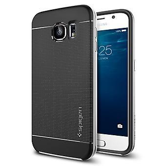 Spigen Samsung Galaxy S6 sag Neo Hybrid - Satin sølv