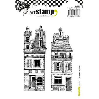 Carabelle Studio Cling Stamp A6-In My House SA60283