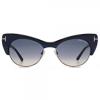 Tom Ford Lola Sunglasses In Turquoise