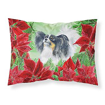 Papillon Poinsettas Fabric Standard Pillowcase