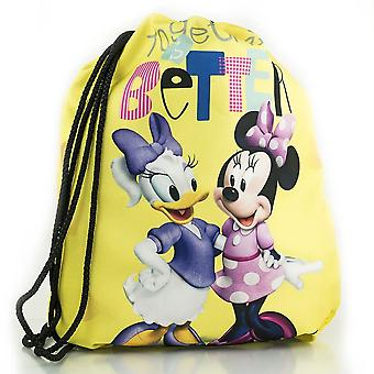 Minnie Mouse Together is better gym sack