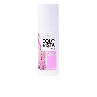 L'oreal Colorista Coloracion Temporal Spray 4 Pink 75ml Womens New Sealed Boxed