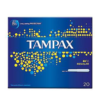Tampones Tampax con aplicador de cartón