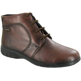Cotswold Ladies Bibury Leather Waterproof Ankle Boot Brown
