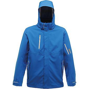 Regatta Herren Exosphäre Stretch wasserdichte atmungsaktive Jacke blau