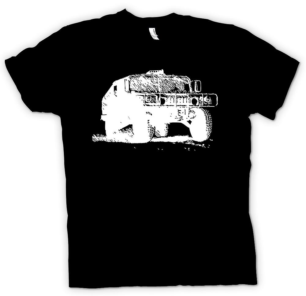 Mens T-shirt - US Army Humvee