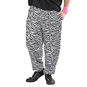 80er Jahre baggy-Hosen - Zebra
