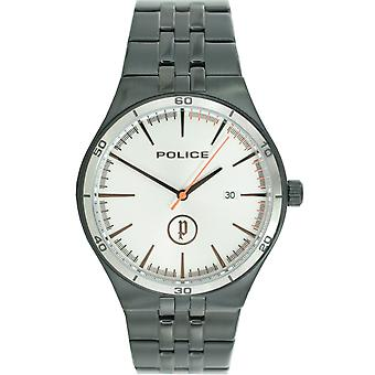 Police mens watch wristwatch stainless steel analog PL. 14440JSBS / 04 M