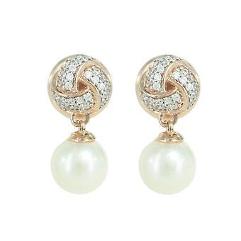 ESPRIT collection ladies earrings silver Rosé Pelia ELER92509B000