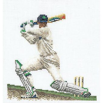 Cricket On Linen Counted Cross Stitch Kit-6.25