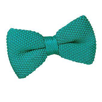 Teal maglia maglia papillon pre-legato