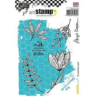 Carabelle Studio Cling Stamp A6-The Earth Has Music
