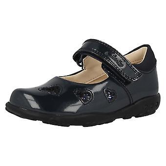 Mädchen erste Clarks Schuhe mit Lichter Ella Leah