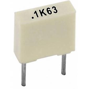 Kemet R82EC2220AA50K+ PET capacitor Radial lead 22 nF 100 V 10 % 5 mm (L x W x H) 7.2 x 2.5 mm x 6.5 mm 1 pc(s)
