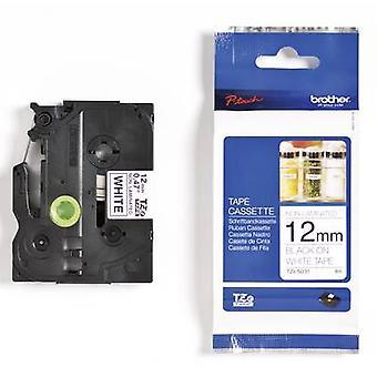 Label roll Brother TZe-N231 Tape colour: White Font colour: Black 12 mm 8 m