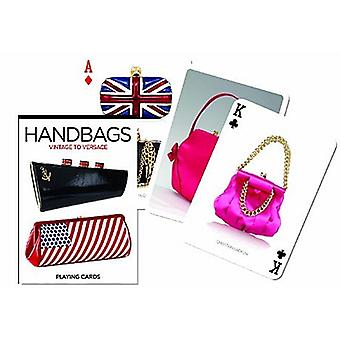 Handtaschen aus Vintage Versace Satz von 52 Spielkarten + Joker