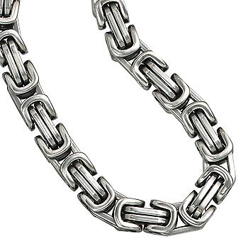 Men's chain necklace stainless steel King chain stainless steel 50 cm lobster necklace chain