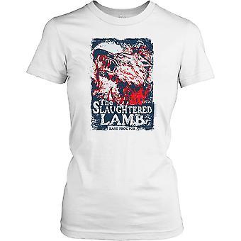 Proctor wschód ubitego baranka - amerykański wilkołak w Londynie Panie T Shirt