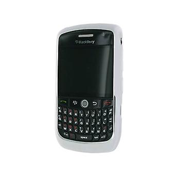 OEM RIM BlackBerry Rubberized Skin for Blackberry 8900 (White)