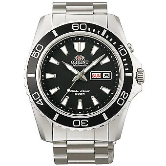 Orient watch XL Mako diver mens Silber
