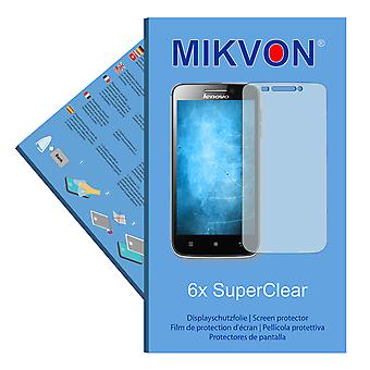 Lenovo S650 screen protector- Mikvon films SuperClear