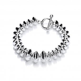 Cavendish franska Silver graderad pärla armband