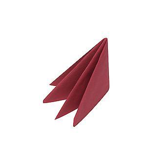 Swantex 2 Ply Burgundy Napkins 40cm