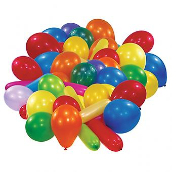 50 Assorted Balloons for Parties | Party Balloons Birthday Wedding