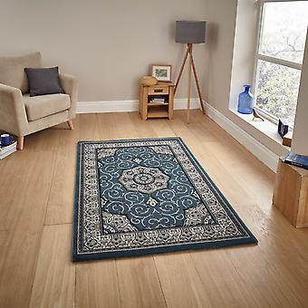 Patrimonio 4400 rectángulo azul oscuro alfombras alfombras tradicionales