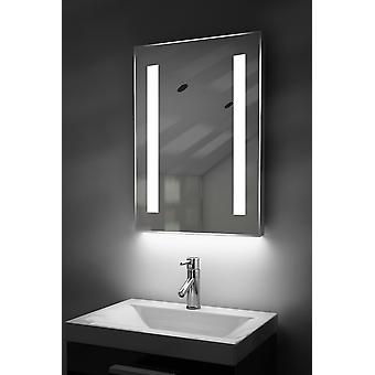 Auto färg förändring LED badrum spegel med Demister & Sensor K205irgb
