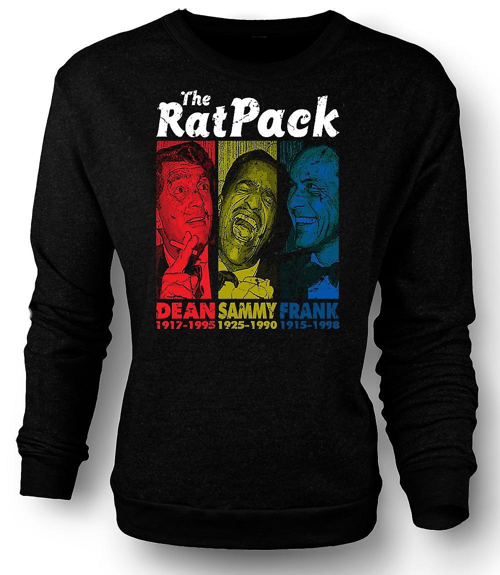 Mens Sweatshirt Rat Pack - Dean Martin - Sammy - Frank Sinatra