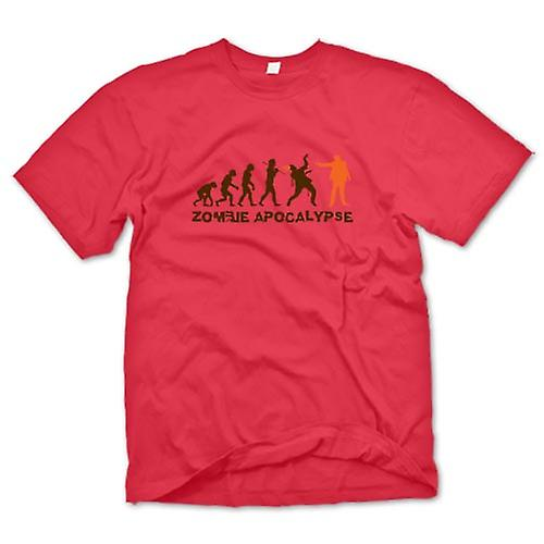 Herr T-shirt - Zombie apokalyps - Funny