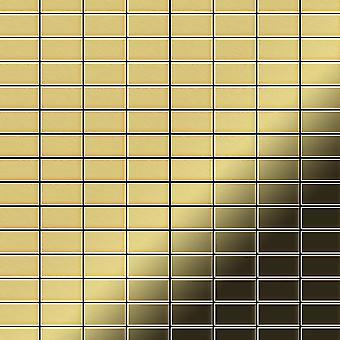 Metal mosaic Brass ALLOY Bauhaus-BM