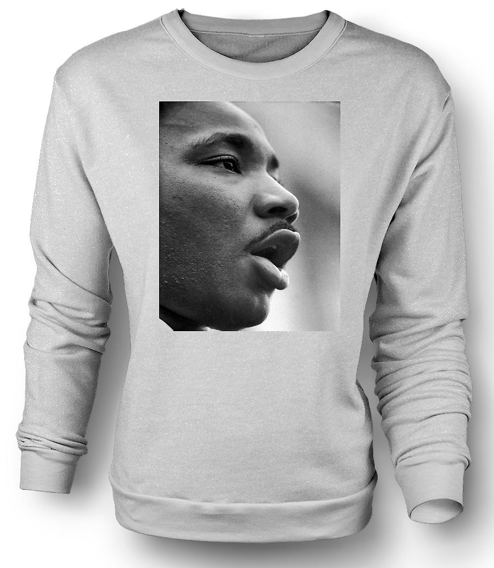 Mens Sweatshirt Martin Luther King - Icon