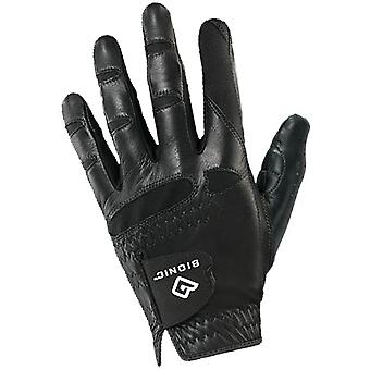Bionic Men's StableGrip Natural Fit Left Hand Golf Glove - Black