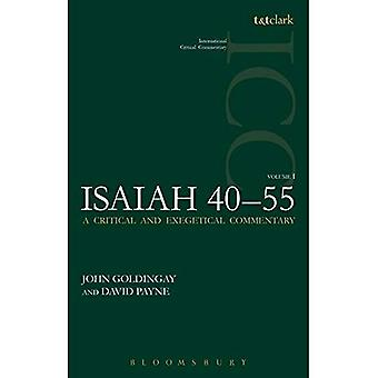 Isaiah 40-55 Vol 1 (ICC) (International Critical Commentary)