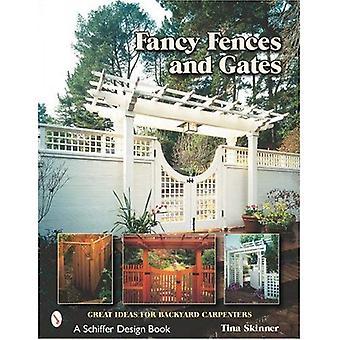 OZDOBNE ogrodzenia bramy: Świetnych pomysłów na podwórku stolarzy